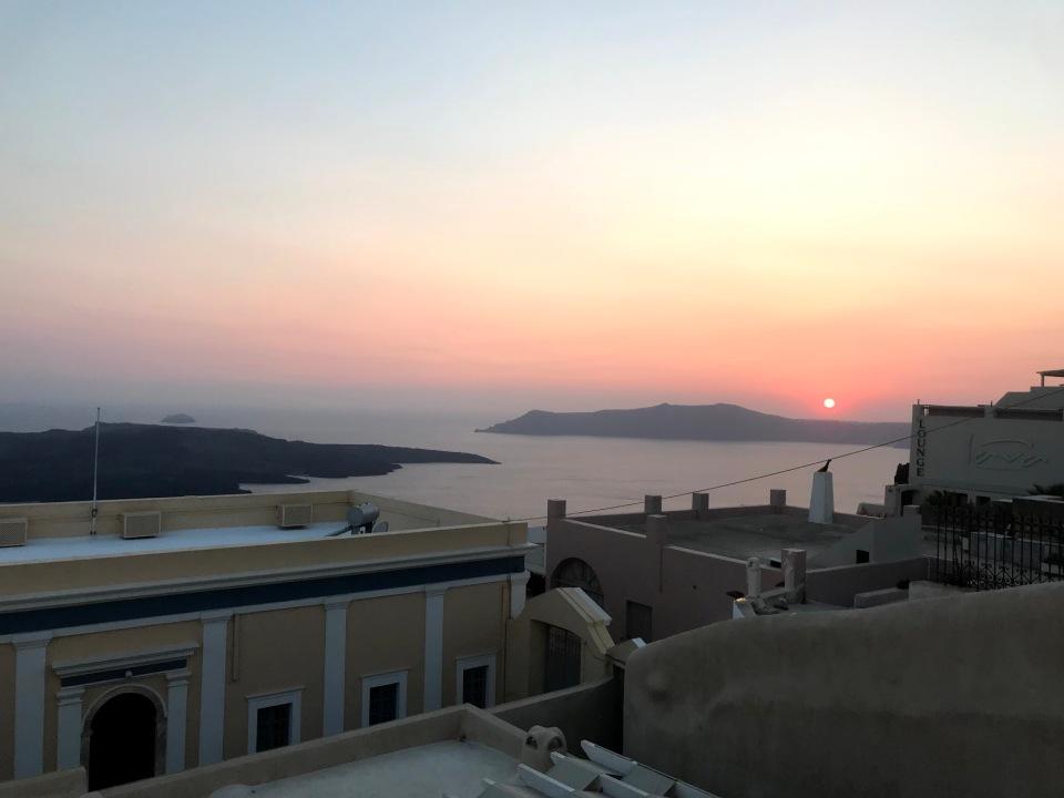 Sunset_fira